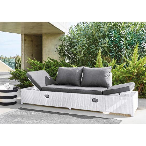 Muebles De Jardin Garden Furniture Furniture Grey Cushions