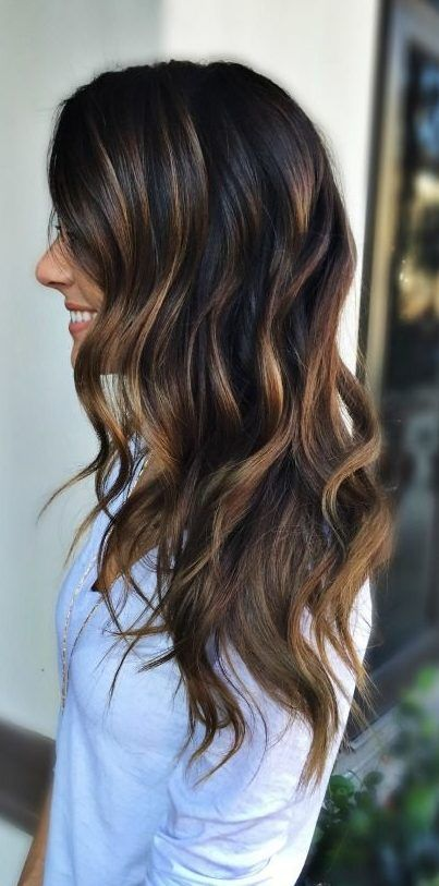 45 Amazing Summer Hair Colors For Brunettes 2019 Summer Hair Colors For Brunettes Brunette Brunette Hair Color Summer Hair Color For Brunettes Brunette Color