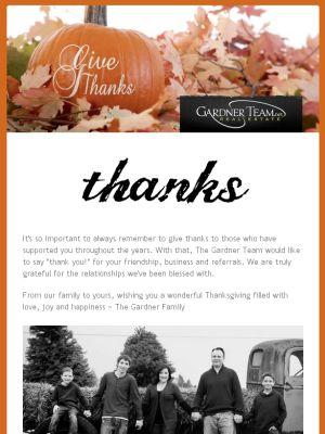 Fall giving thanks newsletter.