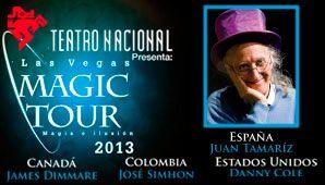 MAGIA EN EL TEATRO NACIONAL LA CASTELLANA Cuatro países, cuatro grandes magos, cuatro estilos e ilusiones se tomarán el Teatro Nacional La Castellana, hasta el 20 de octubre.