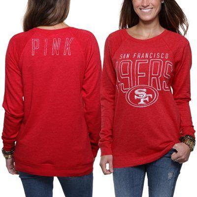 Toddler San Francisco 49ers Scarlet Team Logo Fleece Pullover Hoodie