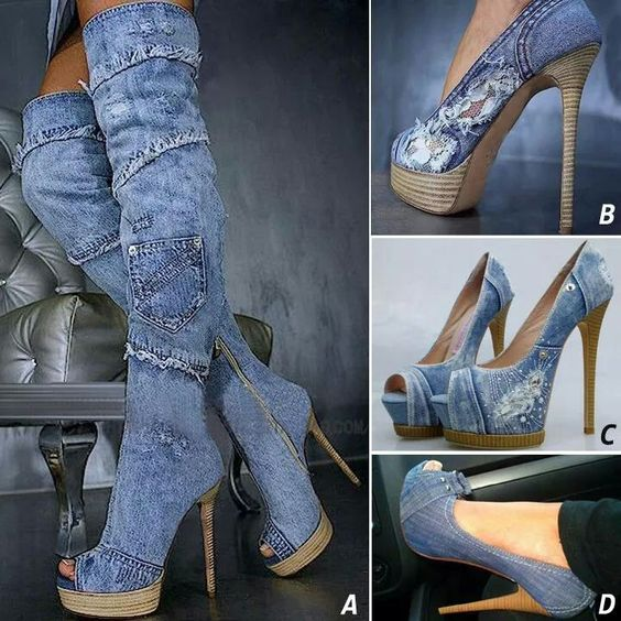 Zapatos vaqueros