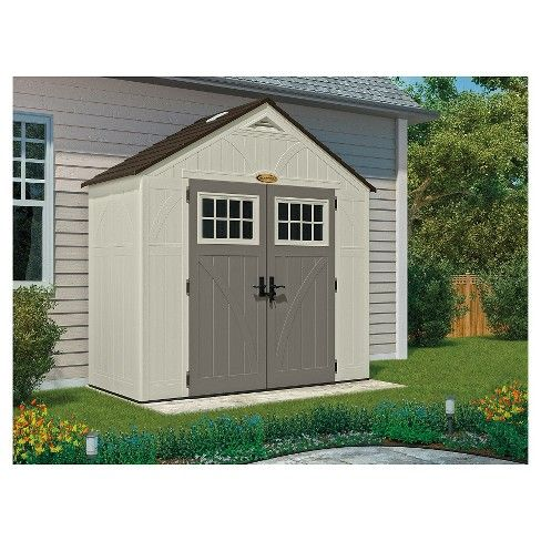Tremont Storage Shed Suncast Building A Shed Shed Plans Plastic Storage Sheds