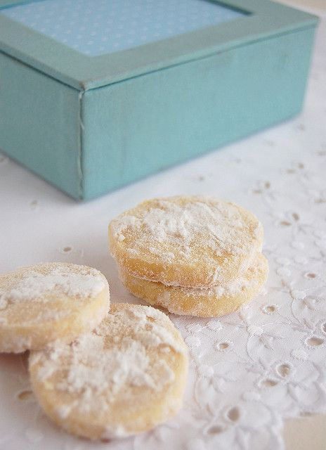 Lemon shortbread / Shortbread