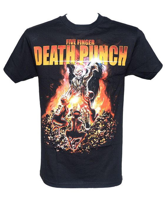 Five Finger Death Punch (also initialized as FFDP or 5FDP) is an American heavy metal band from Los Angeles,California. Formed in 2005, the group's name is derived from classic martial arts cinema. The band originally consisted of vocalist Ivan Moody, guitarist Zoltan Bathory, guitarist Caleb Andrew Bingham, bassist Matt Snell, and drummer Jeremy Spencer.