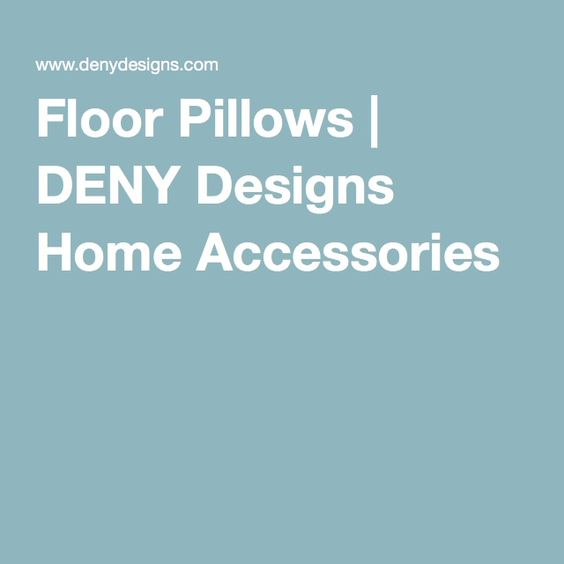 Floor Pillows | DENY Designs Home Accessories