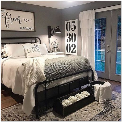 25 Small Master Bedroom Makeover Ideas On A Budget Small Master