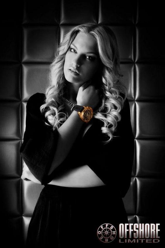 #Offshore Limited Watches Brand Ambassador is #Belgian Model & Actress #Natascha Bintz