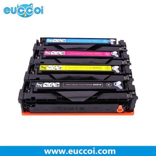 Hp 202a Cf500a Cf501a Cf502a Cf503a Compatible Toner With Chip Use With Hp Color Laserjet Pro Mfp M281fdw Pro M254dw Prin Hp Laser Printer Graphic Card Toner