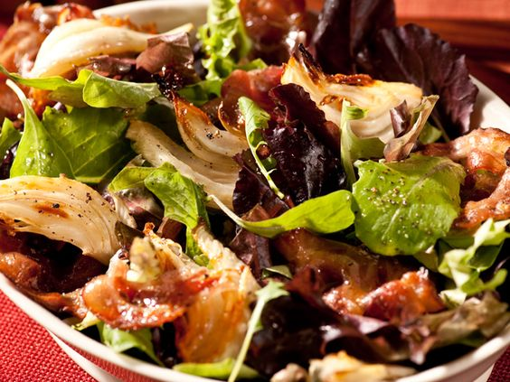 Caramelized Pancetta and Fennel Salad