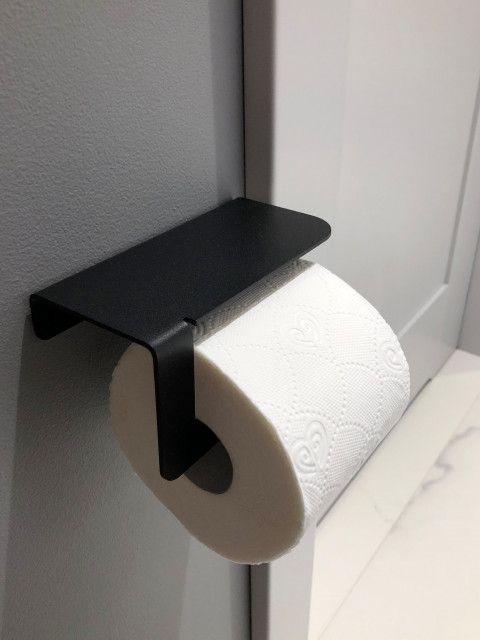 Czarny Uchwyt Na Papier Toaletowy Diara Dabstory Toilet Paper Toilet Home Decor