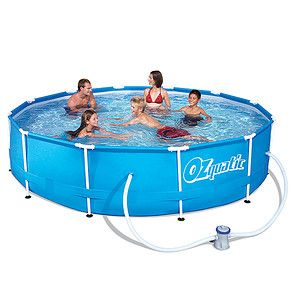 Ozquatic steel pro frame pool set target australia stuff to buy pinterest steel for Swimming pools target australia