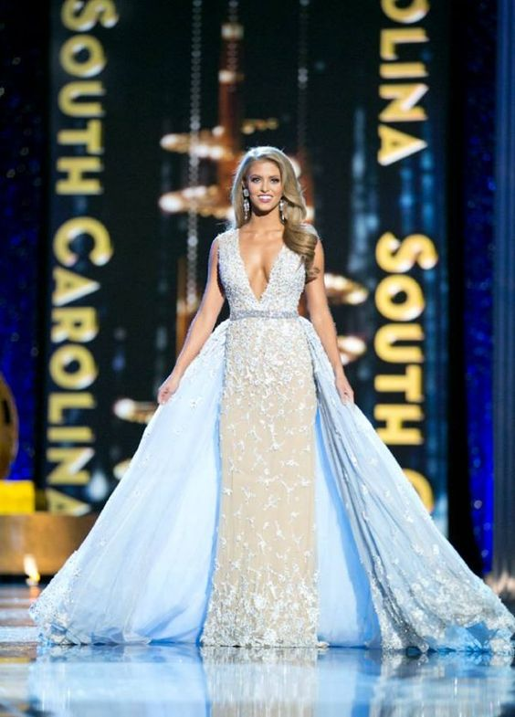The Miss America 2017 preliminary evening gown competition has wrapped up, and the contestants are on to the final phase. The evening gowns presented during the preliminary competitions were stunning; however, they were also a little predictable.  This class of Miss America pageant dresses is a reminder that it is the contestant's job to stand out and make her evening gown her own. Otherwise, she risks blending in with the crowd.  Check out all the preliminary evening gowns from Miss America…