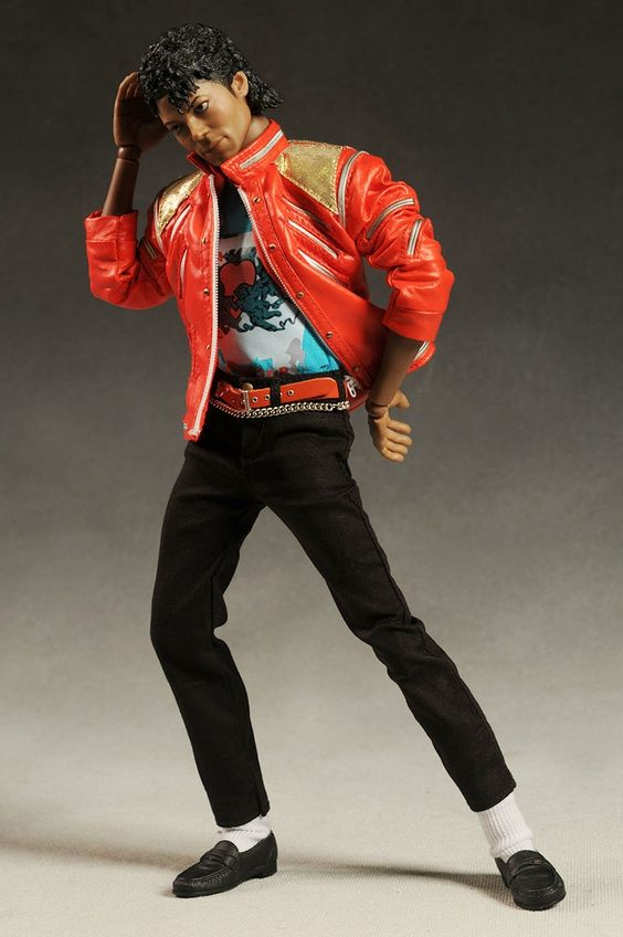 Michael jackson doll dioramas michael jackson beat it for Three jackson toy