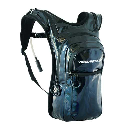 VIBEDRATION'S VIP MODEL Vibedration's rad hydration packs are designed to keep you hydrated and looking rad at music festivals, on outdoor adventures, camping, and in the mountains!Adjustable fit for all sizes.We know you party hard and go on extreme adventures, so we've included anEXTRA MOUTHPIECEwith EVERY hydration pack. VIP HYDRATION PACK MODELS INCLUDE A2.0LBPA-FREE, ANTIMICROBIAL …