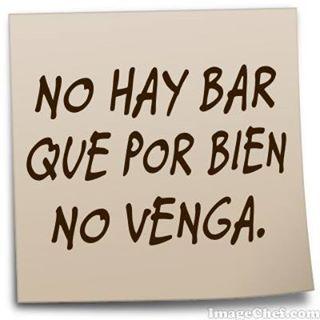 #funny, no hay bar que por bien no venga