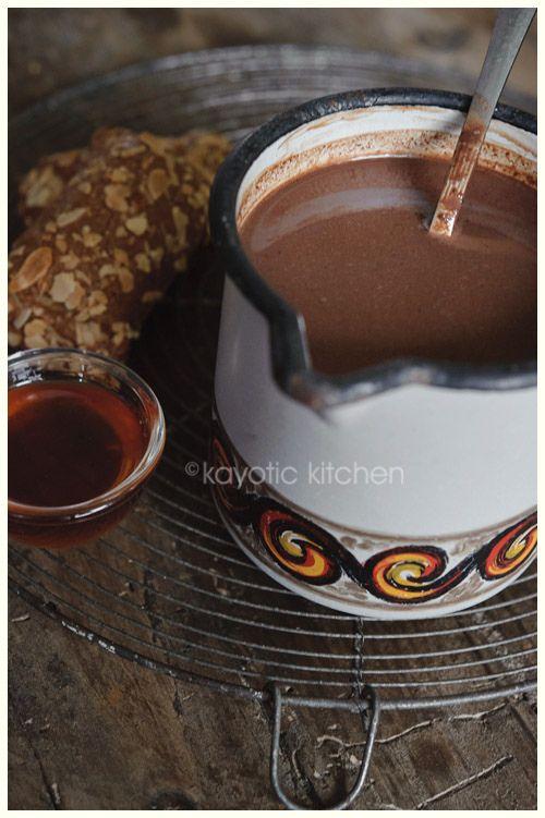 Pink Peppercorn Hot Chocolate