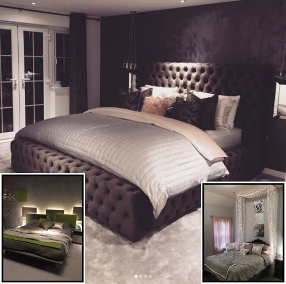 White Country Bedroom Ideas With Lights In 2020 Country Bedroom Bedroom Awesome Bedrooms