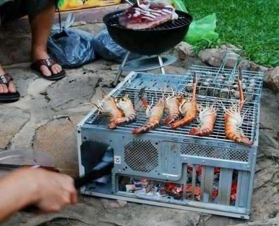 Computer Grill!