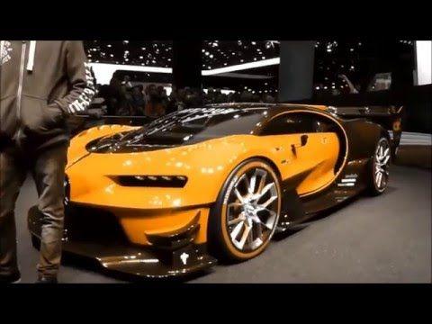 Color Changing Bugatti Vision Gran Turismo 8 0 W16 1500 Hp 463 Km H 287 Mph Playlist Youtube Bugatti Bugatti Chiron Concept Cars