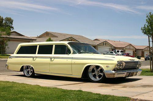 1962 Camioneta Chevrolet Impala Classic Cars Station Wagon Cars Classic Cars Trucks