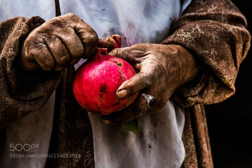 pomegranate by behshot  IFTTT 500px beautiful beauty color female food fruit girl hand hands indoor iran kerman lady light