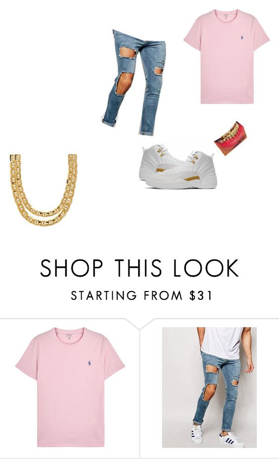 """""""Untitled #62"""" by qveenkiki on Polyvore featuring Polo Ralph Lauren, ASOS, men's fashion and menswear"""