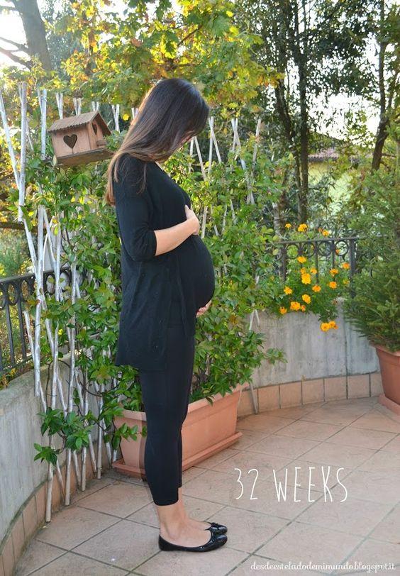 35 semanas de embarazo: Esperando.....