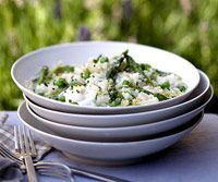 Risotto with Leeks | Risotto