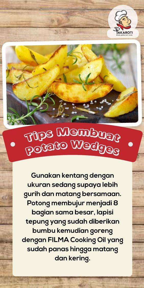 Tips Membuat Potato Wedges Resep Masakan Ide Makanan Resep Makanan Sehat