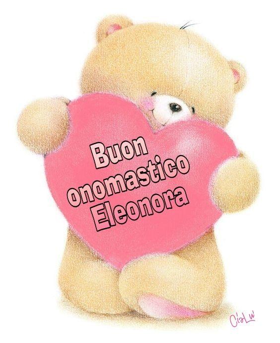 Estremamente Buon onomastico Eleonora   Buon onomastico, Onomastico, Compleanno RR02