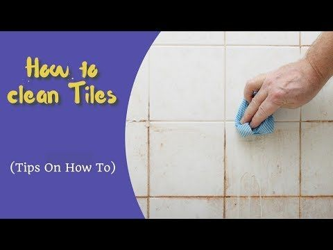 How To Clean Bathroom Tiles In 5 Minutes Home Remedies Youtube With Images Cleaning Bathroom Tiles
