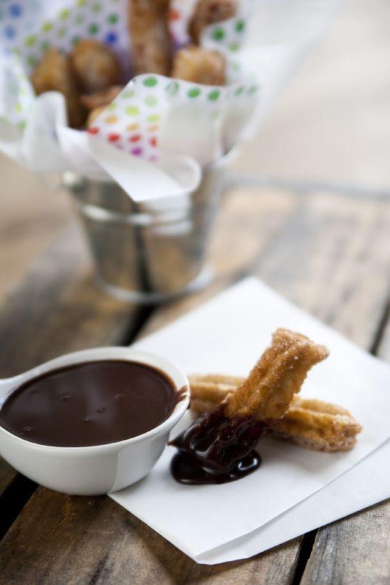 Love churros and chocolate...drool!