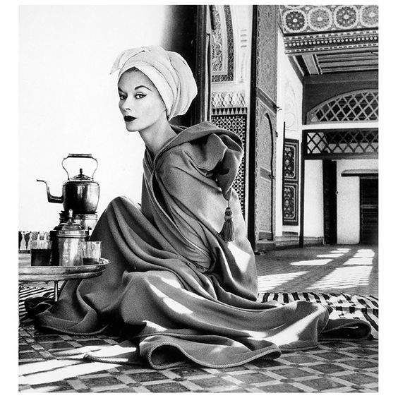 Woman In Moroccan Palace by Irving Penn, 1951