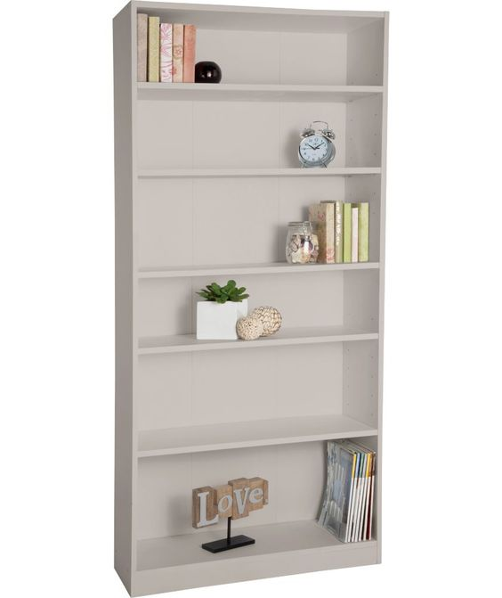 Maine Tall Wide Extra Deep Bookcase Putty At Argos Co Uk Your Online For Bookcases And Shelving Units
