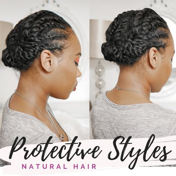 Low Manipulation Protective Style Natural Hair Styles Curly Hair Styles Naturally Hair Styles