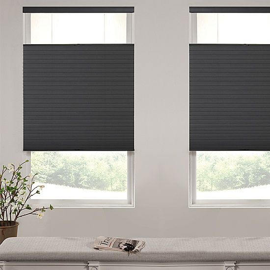 Liz Claiborne Single Cell Blackout Custom Cordless Top Down Bottom Up Cellular Shade Jcpenney Blackout Cellular Shades Cellular Shades Window Shades