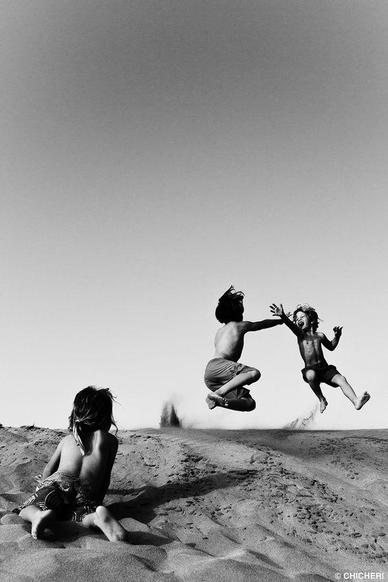 kids & beach - raquel chicheri