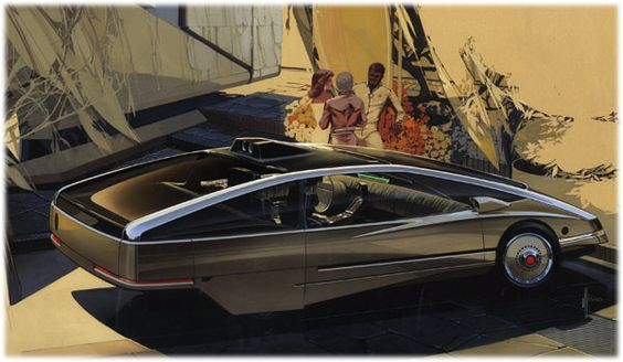 Syd Mead Futurism Cars (carsketch.ru, 2012)