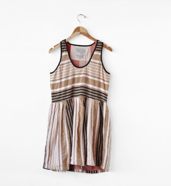 Image of Ace & Jig Grainsack Boardwalk Dress