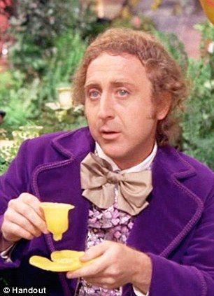 willy wonka drinking tea - Google Search: