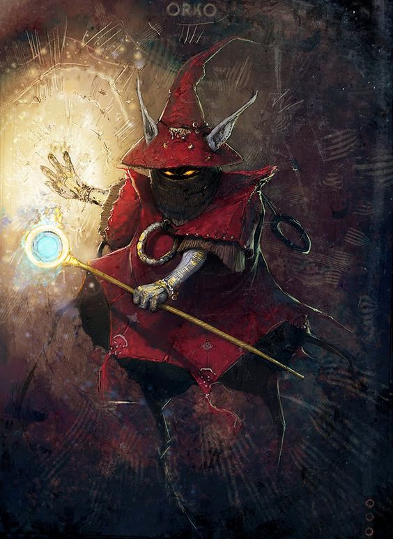 Orko, masters of the Universe - by David Munoz Velazquez: