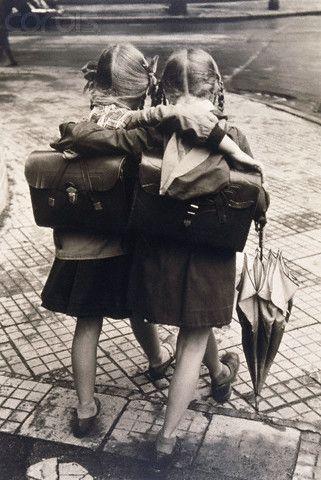 Copines d'école #photography #Vintage