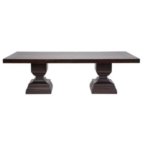 Brussels dining table from z gallerie dining room for Z gallerie dining room table