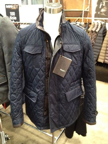 Moorer quilted jacket FW13