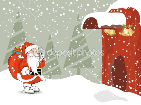 Merry christmas celebration wallpaper by alliesinteract - Stock Vector