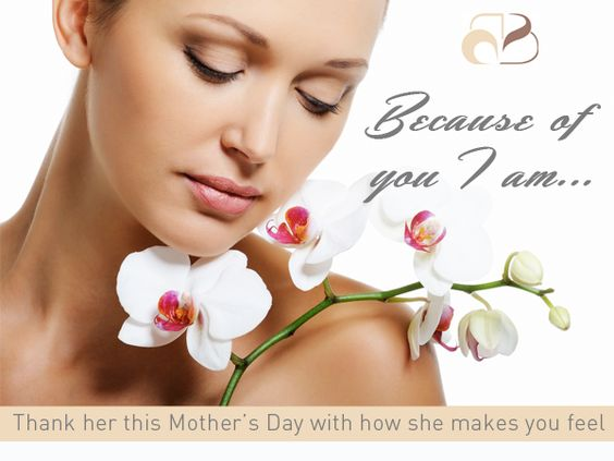 """Thank Mum or your special someone this Mother's Day with """"How she makes you feel"""" For just $95 choose her one of these fabulous treatments and she'll receive 10% off full treatment price, a head massage plus a complimentary Waterlily gift! Book online (quote Quote MDSG1) or call your nearest salon before May 9, 2015…"""