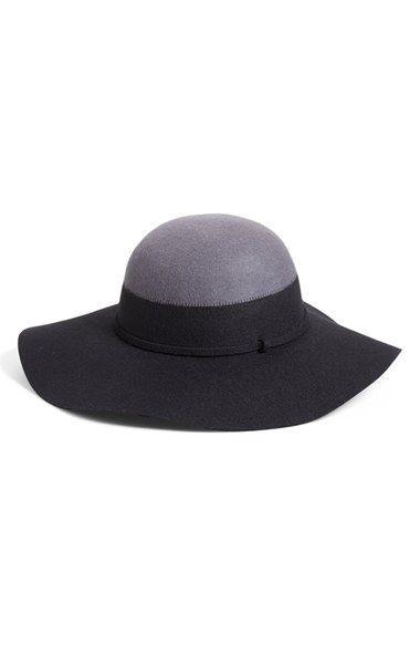 Nordstrom Colorblock Floppy Hat
