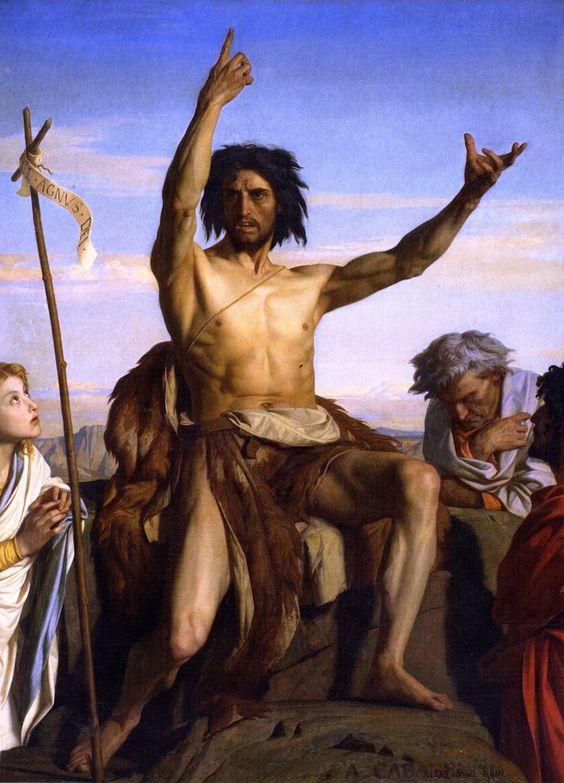 Alexandre Cabanel: Juan el Bautista (1849)