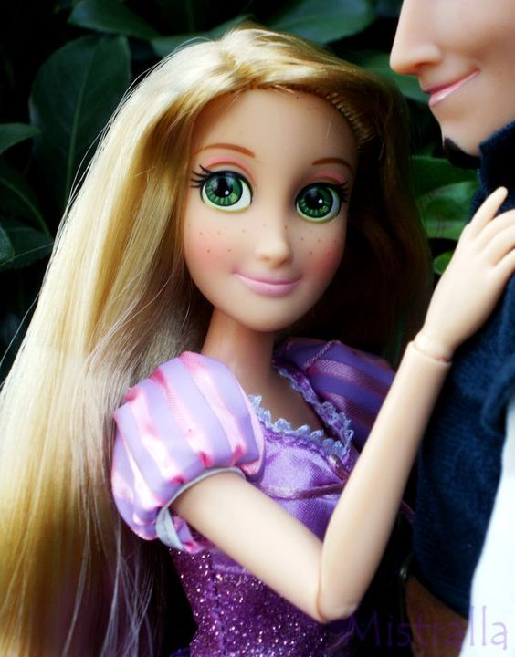 merverb:  Miss Rapunzel by *Mistralla I have yet to purchase the flynn doll actually…